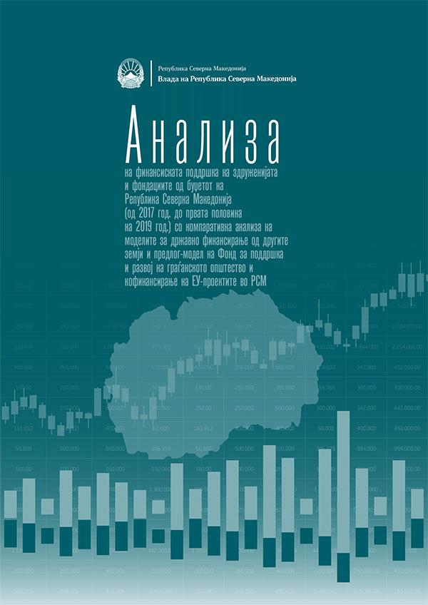 Анализа на финансиската подршка на здруженијата и фондациите од буџетот на Република Северна Македонија